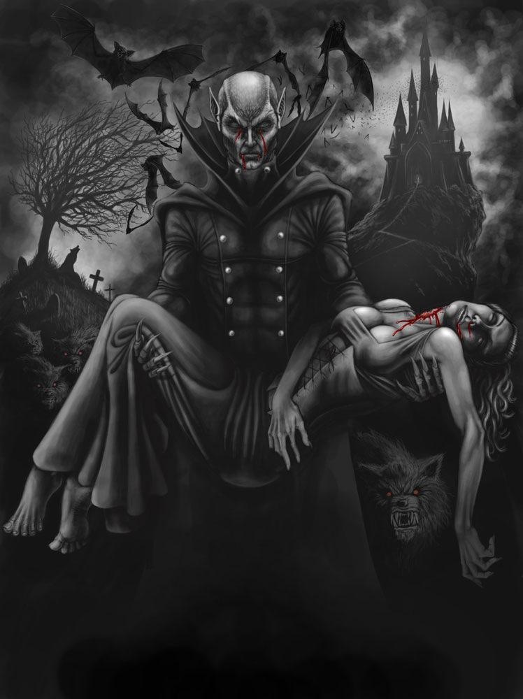 dans fond ecran vampire